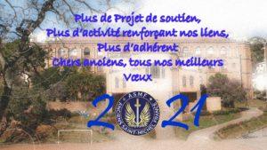 Tous nos meilleurs Vœux pour 2021.